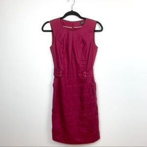 Sweet Plum Colored Mid Length Dress by Mexx
